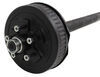 "Dexter Trailer Axle w/ Electric Brakes - EZ-Lube - 5 on 4-1/2 Bolt Pattern - 89"" - 3,500 lbs 3500 lbs 35545E-ST-EZ-89"