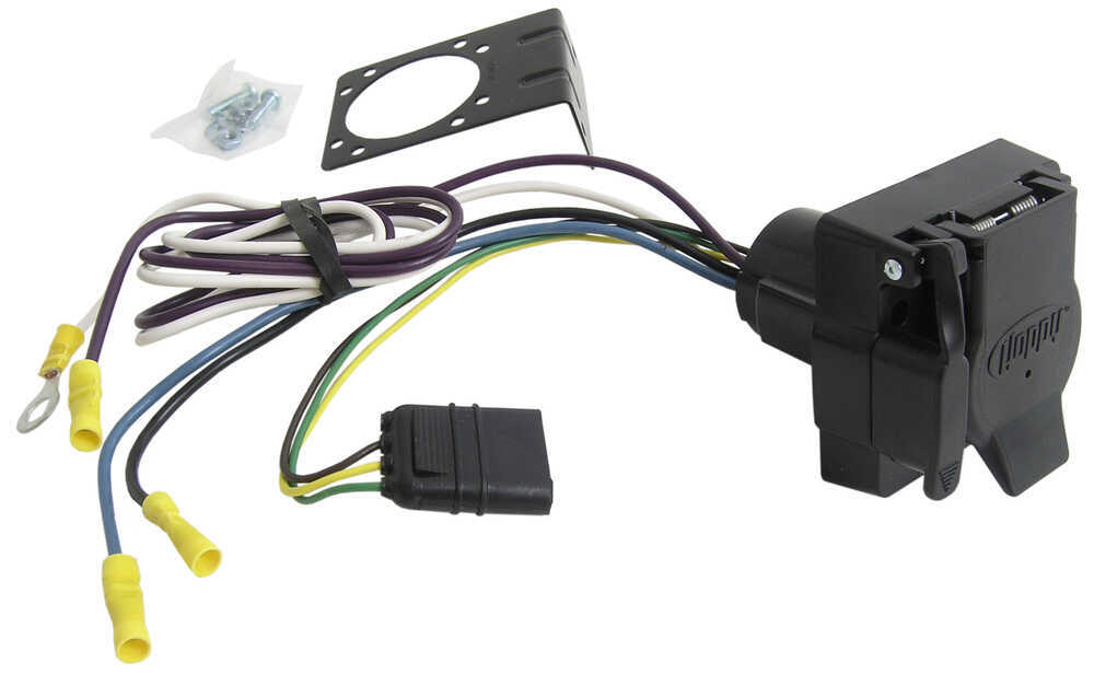 2015 Ford F 150 7 Pin Trailer Wiring Harness | Wiring Diagram  Pin Trailer Wire Harness on 7 pin wiring harness diagram, seven prong trailer harness, ford truck trailer harness, ford 7 wire trailer plug harness,