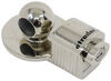 "Master Lock 1-7/8"", 2"", and 2-5/16"" Trailer Coupler Lock - Nickel Plated Zinc"