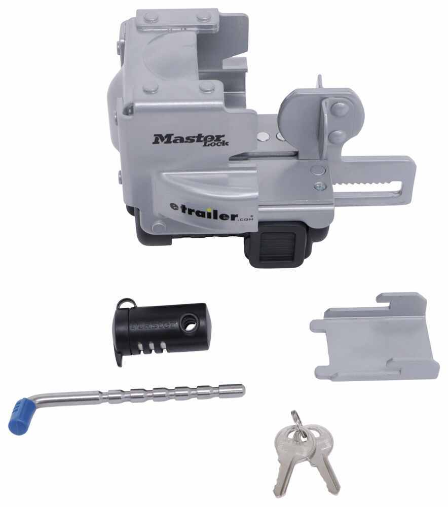 Master Lock Heavy-Duty Coupler and Latch Lock Combo for 1-7/8