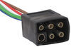 hopkins wiring single-function adapter 6 square