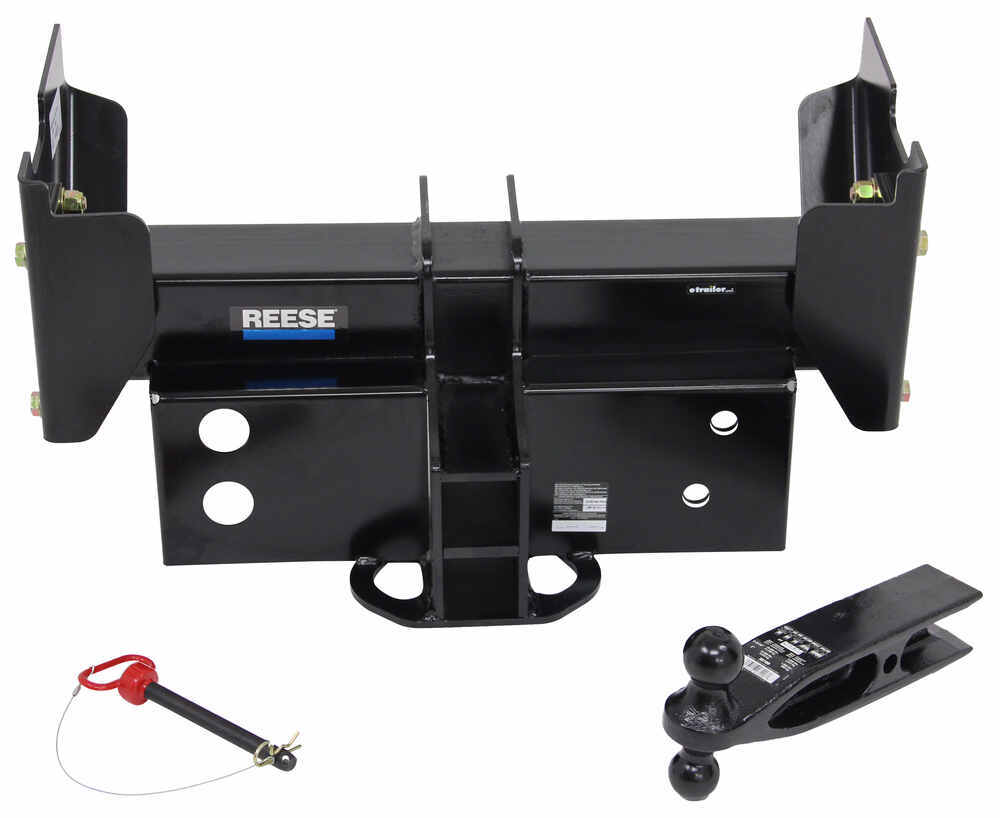 "Super Titan 4000 Weld-On Trailer Hitch with 3"" Receiver Opening, 25,000 lbs. 4000 lbs TW 38124"