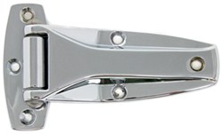 Chrome Plated Flush Hinge for Cargo Trailers