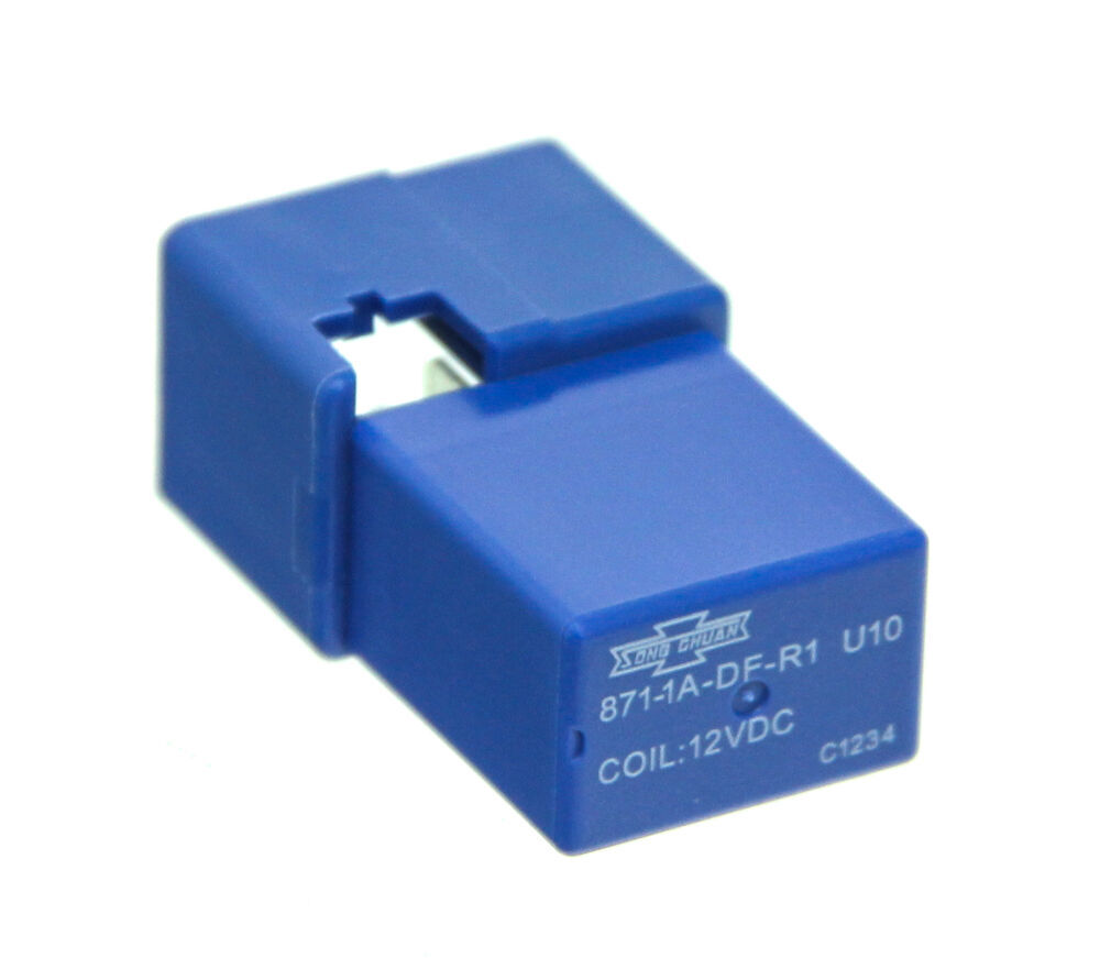 Relay Blue 4 Terminal 12 Volt Qty 1 Tow Ready Accessories Axxess Interface Wiring Diagram Tundra And Parts 38666