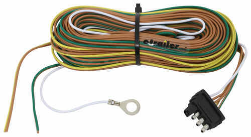 pioneer double din wiring harness diagram 35 ft 4-way trailer wiring harness - wishbone style - 42 ... double trailer wiring harness ground