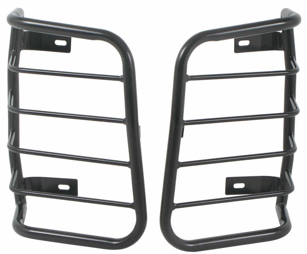 westin sportsman tail light guards black powder coated steel qty 2 westin. Black Bedroom Furniture Sets. Home Design Ideas