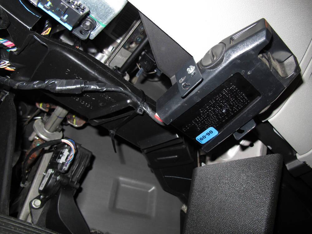 Chevy Silverado Wiring Diagram Brake Controller : Tekonsha voyager trailer brake controller to axles