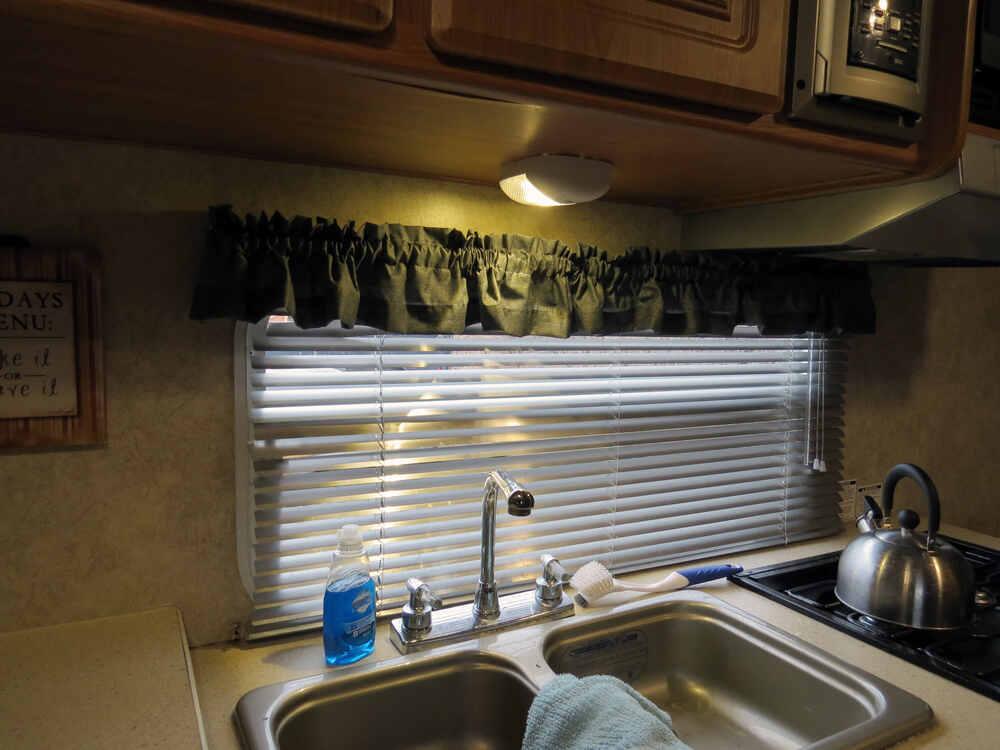 Blazer Rv Interior Dome Light With On Off Switch Led 2 Wire Aero Style White Blazer Rv