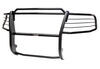 Westin Sportsman Grille Guard - 1 Piece - Black Powder Coated Steel