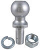 "2"" Hitch Ball - 1"" Diameter x 2-1/4"" Long Shank - Chrome - 12,000 lbs"