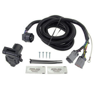 hopkins endurance 5th wheel/gooseneck 90-degree wiring ... 2012 super duty trailer wiring harness