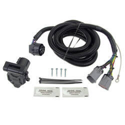 40167_250 in bed 5th wheel gooseneck trailer wiring harness for a 2006 ford f