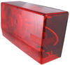 "Wesbar Tail Light for Trailers over 80"" Wide - Submersible - 8 Function - Driver Side Red 403025"