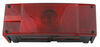 Wesbar Submersible Low Profile Trailer Tail Light with License Plate Light (Left Side)