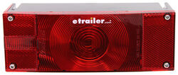 Wesbar Submersible Low Profile Trailer Tail Light with License Plate Light - Driver Side