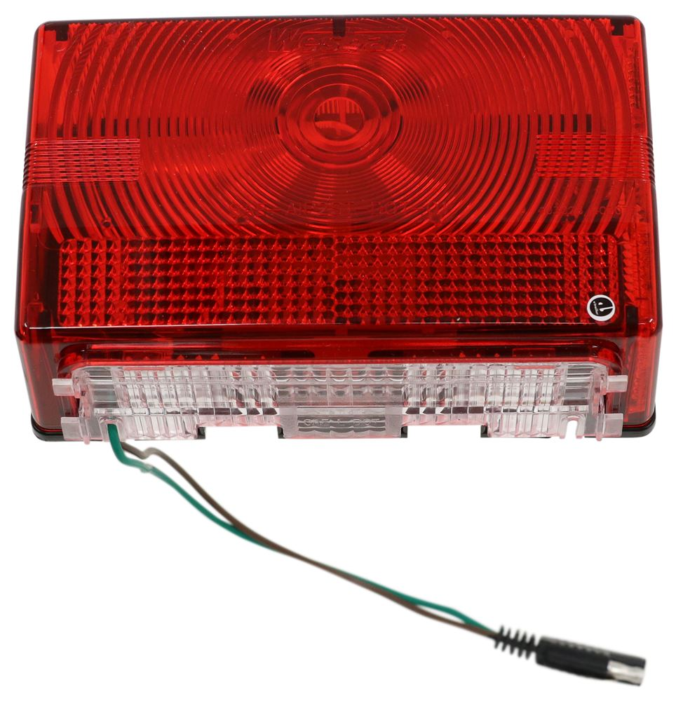 Compare Optronics 6 Function Vs Wesbar Submersible Shorelander Trailer Wiring Harness Lights 403075 Rectangle