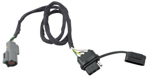 40455_500 plug n tow (r) vehicle wiring harness hopkins custom fit vehicle 2012 ford escape trailer hitch wiring harness at edmiracle.co