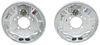 "Demco Hydraulic Brake Kit - Free Backing - Galvanized - 10"" - Left/Right Hand Assemblies - 3.5K Brake Set 40716-15"