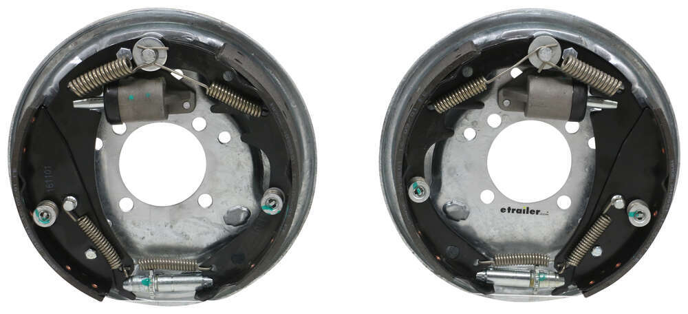 "Demco Hydraulic Brake Kit - Free Backing - Galvanized - 10"" - Left/Right Hand Assemblies - 3.5K Free Backing 40716-15"