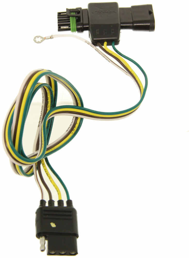 hopkins plug in simple vehicle wiring harness with 4 pole Basic Trailer Wiring Trailer Brake Controller Wiring Schematic
