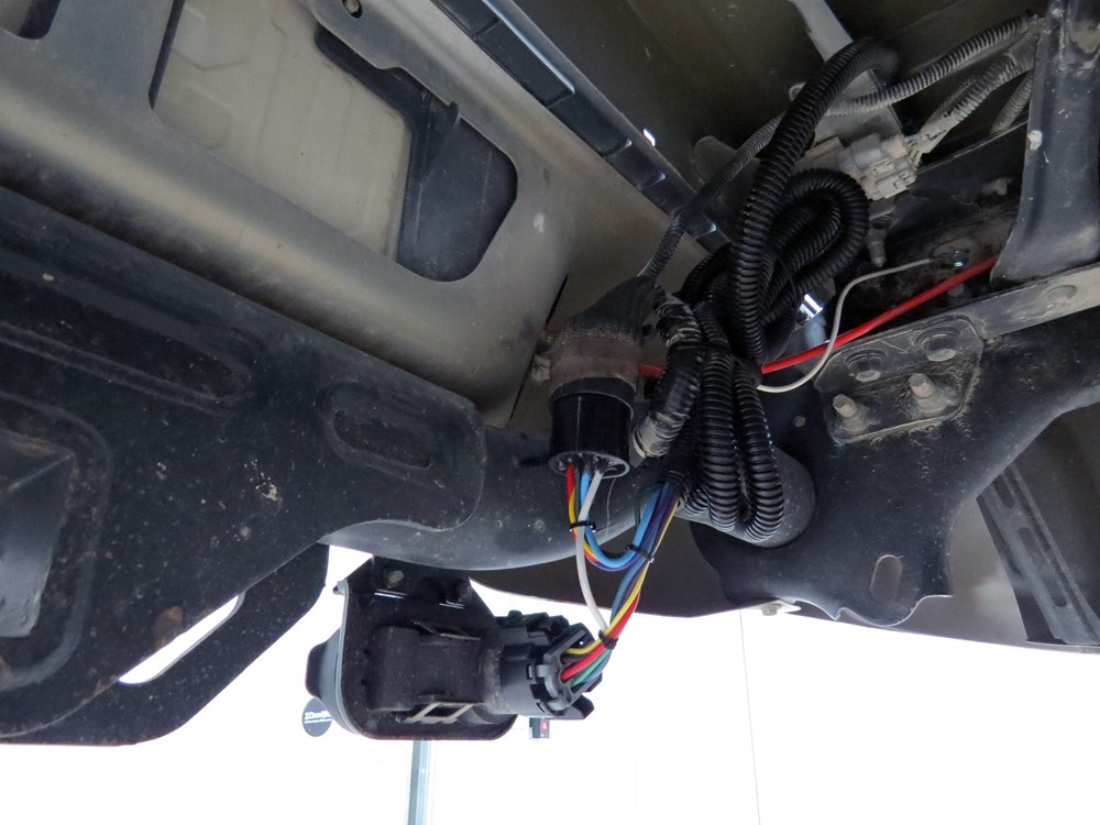 toyota tundra trailer wiring 2015 toyota tundra custom fit vehicle wiring - hopkins #6
