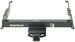 Draw-Tite Ultra Frame Trailer Hitch Receiver - Custom Fit - Class IV - 2""