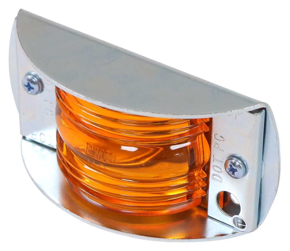 Trailer RV Taillight Lens Set Fit Optronics Grote Rear /& Side Marker Peterson