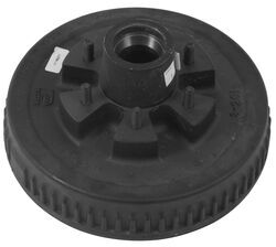 Trailer Hub and Drum Assembly - 5,200-lb and 6,000-lb Axles - 6 on 5-1/2