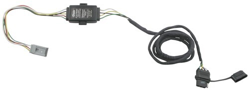 43105_500 hopkins plug in simple vehicle wiring harness with 4 pole flat 2004 honda pilot trailer wiring harness at bakdesigns.co
