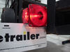 Peterson Combination Trailer Tail Light - 7 Function - Incandescent - Square - Driver Side Red 432400