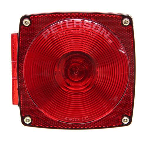 peterson square trailer light 7 function left peterson trailer lights 432400