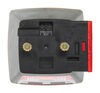 Peterson Combination Trailer Tail Light - 7 Function - Incandescent - Square - Driver Side 5L x 4-1/2W Inch 432400