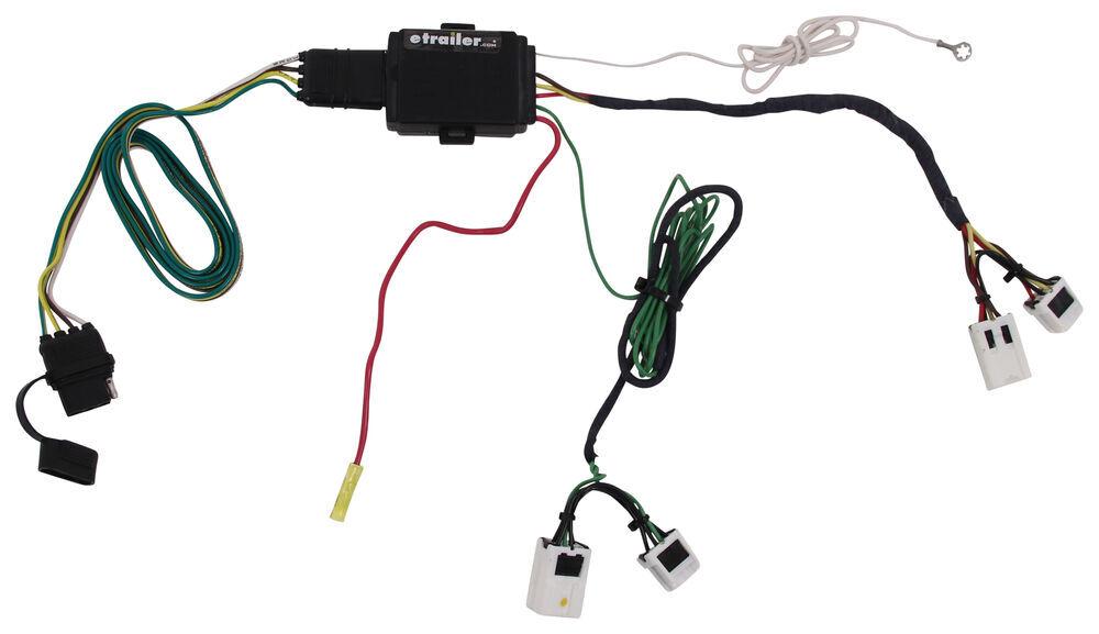 Trailer Wiring Harness For Xterra : Nissan xterra plug n tow r vehicle wiring harness