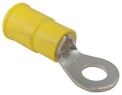 "Ring Terminal - 12-10 Gauge Wire - 3/16"" Ring ID"