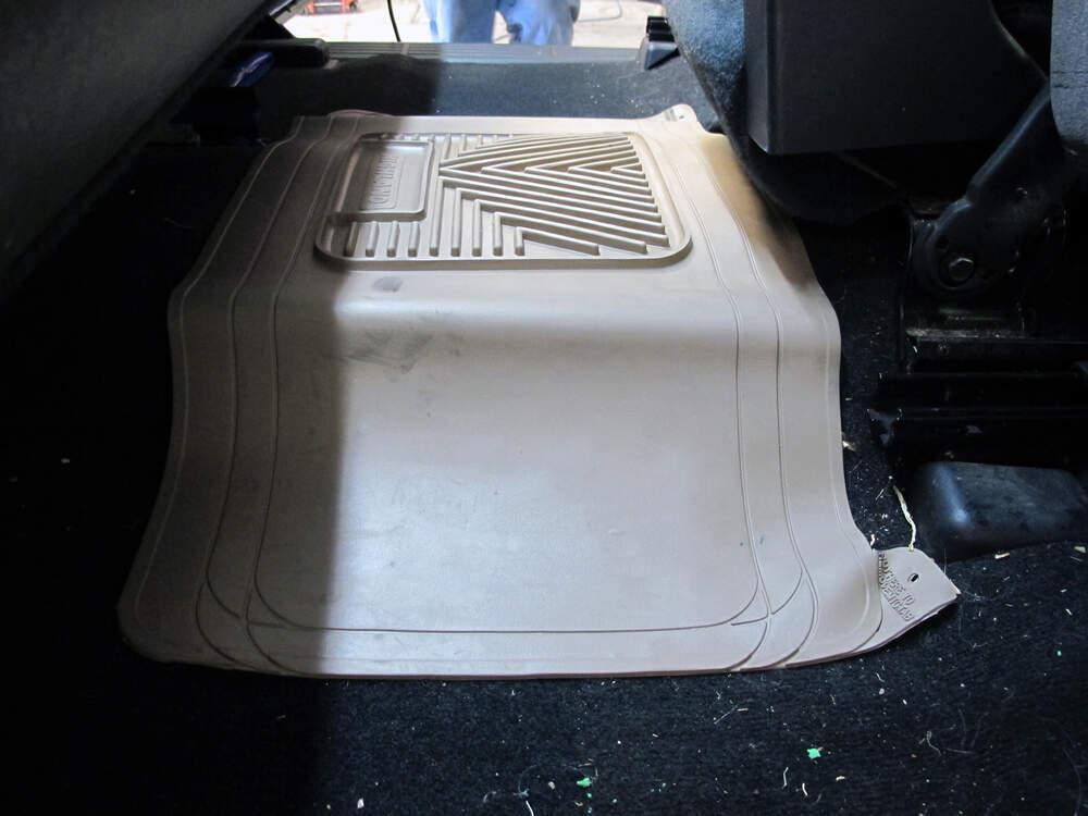 Auto Floor Mats All Weather Center Hump Mat Tan