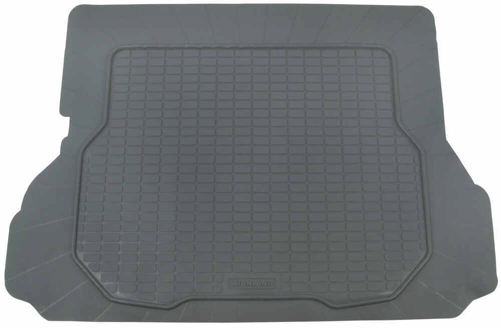 Semi Custom All Weather Rubber Cargo Mat Grey Highland