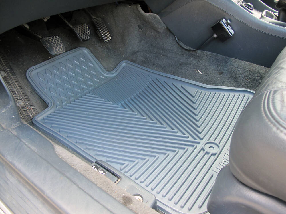Auto floor mats all weather car truck suv grey for 1992 honda accord floor mats