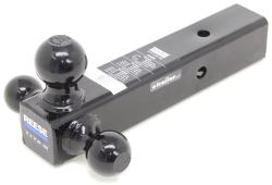 "Reese Tri-Ball Mount for 2-1/2"" Hitches - 1-7/8"", 2"", 2-5/16"" Balls - Black"