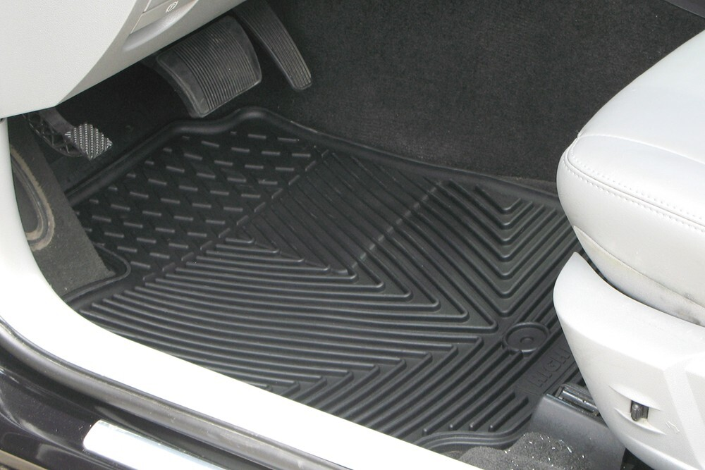 Auto floor mats all weather car truck suv black for 1994 toyota pickup floor mats