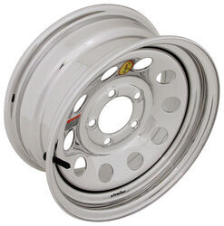 "Taskmaster Steel Modular Trailer Wheel - 14"" x 6"" Rim - 5 on 4-1/2 - Silver PVD Finish"