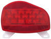 Bargman Surface Mount LED Tail Light w/ License Plate Light - 07 Series - Red