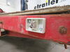 0  trailer lights wesbar clearance 2-1/2l x 2w inch on a vehicle
