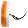bargman trailer lights clearance rear side marker led or light w/ reflector - submersible 2 diodes amber lens