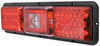Bargman LED Triple Tail Light - 5 Function - 36 Diodes - Black Base - Red and Clear Lens LED Light 47-84-103