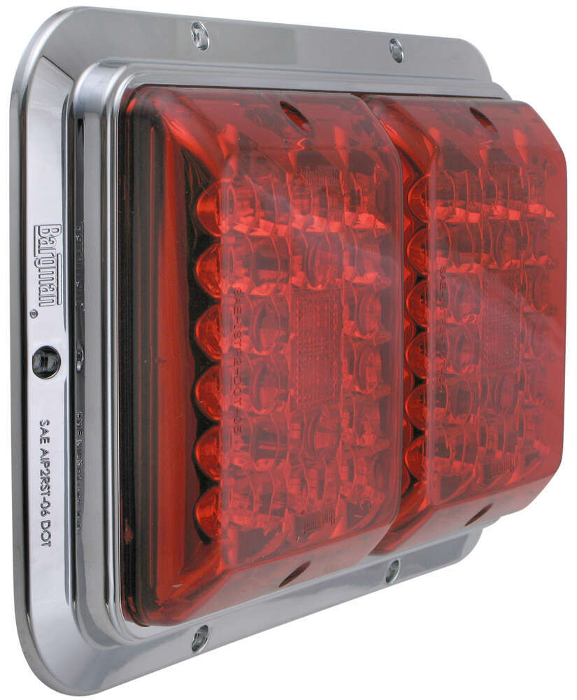 Bargman 47-84-612 Surface Mount Taillight Red//Amber
