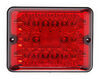 Bargman LED Single Tail Light - 86 Series - Red - Black Base