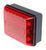bargman trailer lights tail non-submersible led single light - 86 series red black base