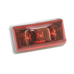 Red Clearance Light with Stainless Steel Hardware