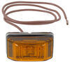 Amber Clearance Light with Stainless Steel Hardware