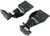 roadmaster base plates removable draw bars xl plate kit - arms